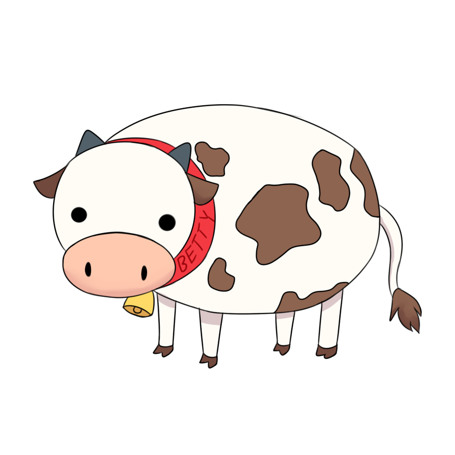 Betty the cow