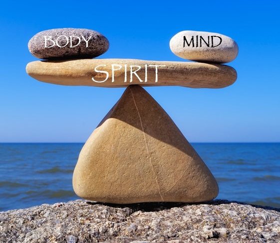 Image result for body mind spirit balance stones